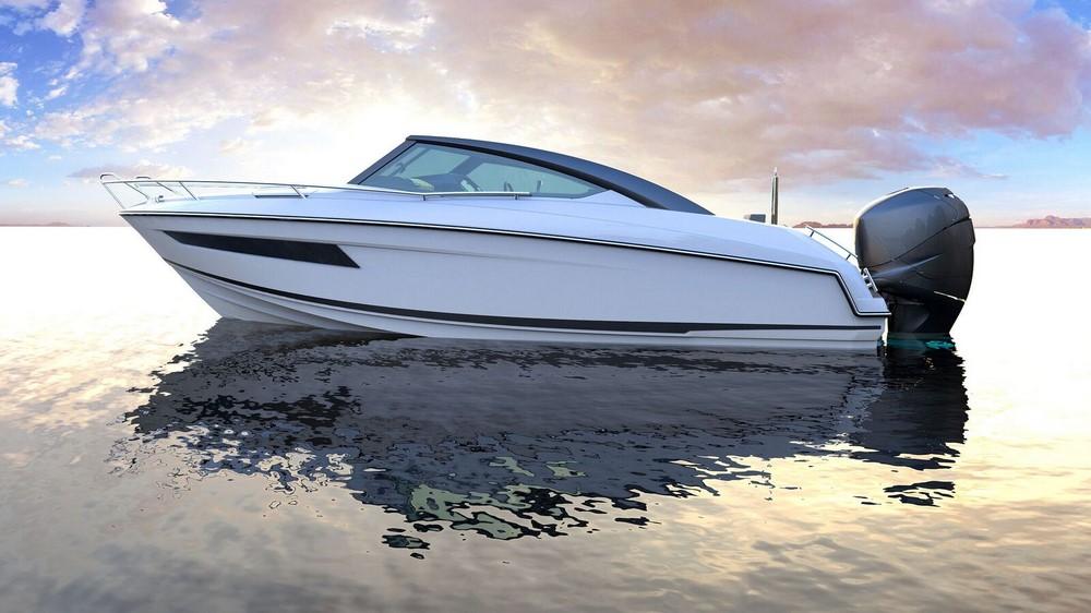 bateaux moteur neufs coque dure. Black Bedroom Furniture Sets. Home Design Ideas